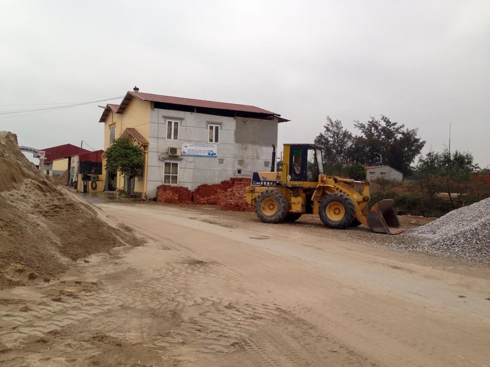 Lắp đặt camera giám sát cho bãi vật liệu xây dựng công ty TNHH Thương Mại Xây Dựng Xuất Nhập Khẩu Phú Quý