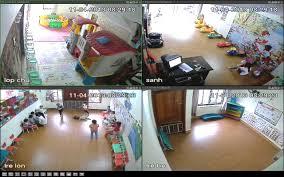 lắp đặt camera quan sát nhà trẻ